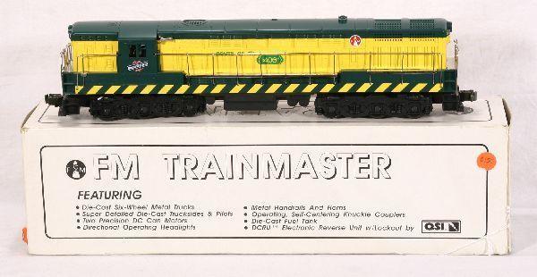 NETTE - CUSTOM C&NW TrainMaster Diesel