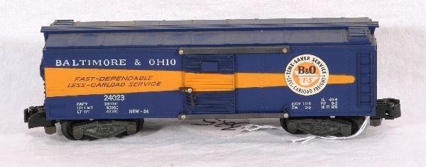 325: NETTE - AM FLYER 24023 B&O Boxcar:::