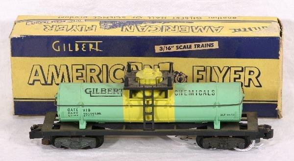 326: NETTE - Boxed AM FLYER 910 Gilberts Tank Car: