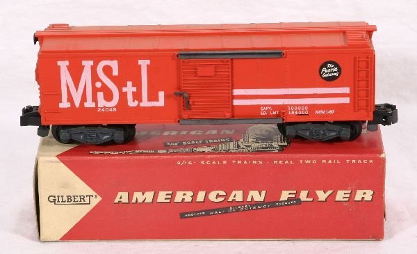 327: NETTE - Boxed AM FLYER 24048 M&StL Boxcar: