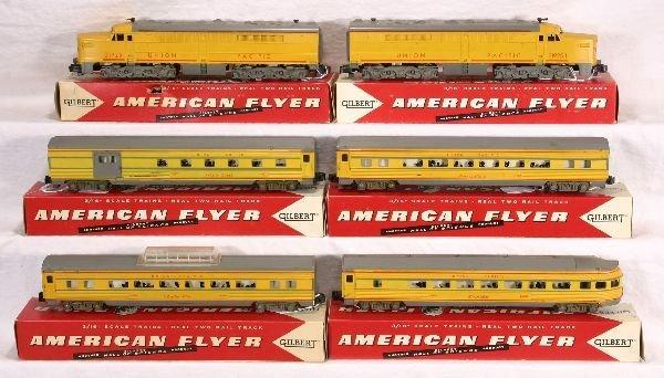 335: NETTE - Boxed AM FLYER Pony Express Set: