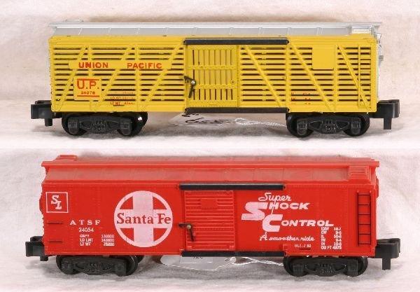 339: AM FLYER 24054 & 24076 Freight Cars: