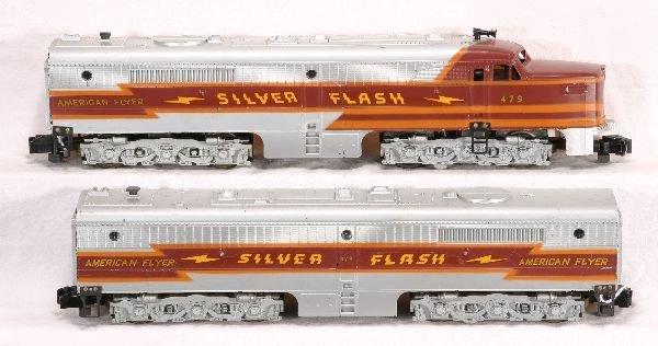 344: NETTE - AM FLYER 479 & 478 Silver Flash AB: