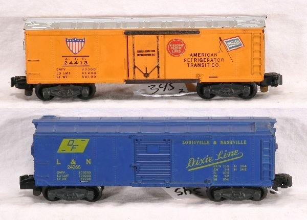 345: NETTE - AM FLYER 24066 & 24413 Freight Cars: