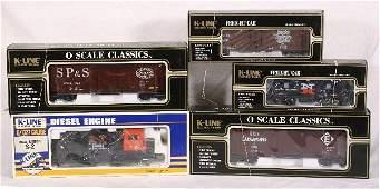 641: NETTE - 5 Pc. K-LINE NH Train Set: