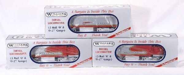 370: NETTE - WILLIAMS 49999 SF F3 ABA Diesels: