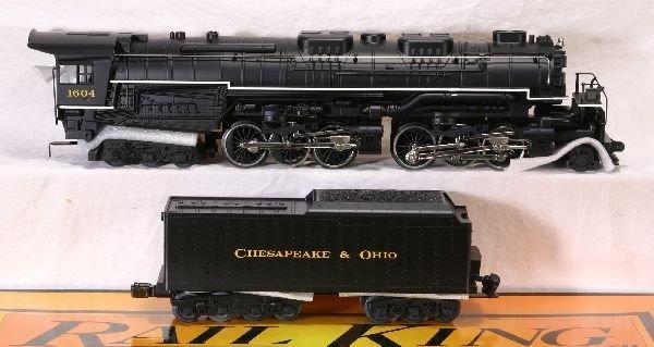 373: NETTE - MTH RailKing 20-1117LP Allegheny Loco: