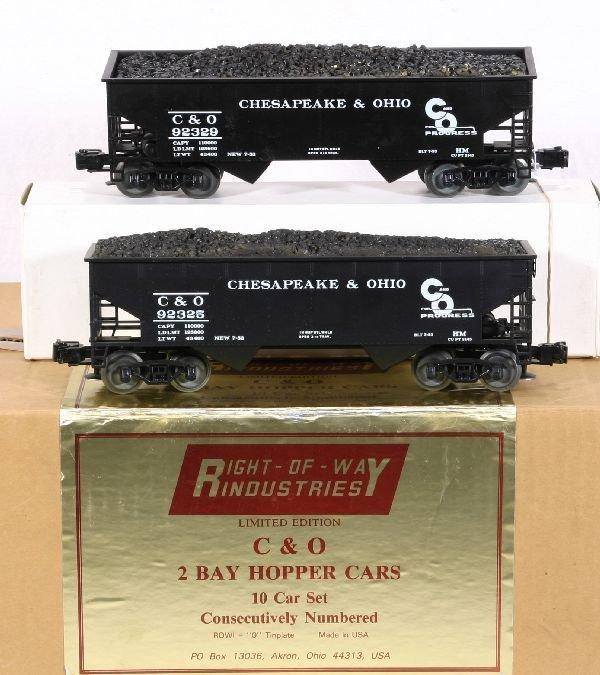378: NETTE - ROW 10 Car C&O Hopper Set: