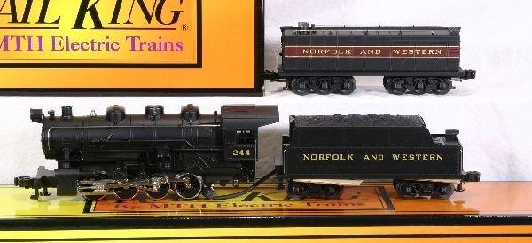 383: NETTE - MTH RailKing 1111LP 0-8-0 Switcher: