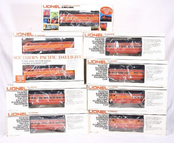 384: NETTE - 8 Pc. LIONEL/MPC SP Daylight Diesel Set: