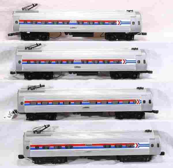 NETTE - 4 Pc. K-LINE Amtrak Metroliner