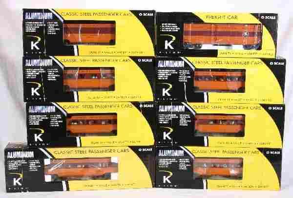 NETTE - 8 Pc. K-LINE MR Hiawatha Pass. Cars Plus