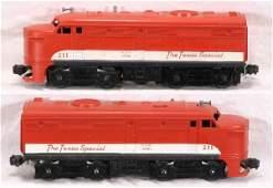 873 NETTE  LIONEL 211 Texas Special Alco AA Diesels
