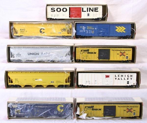 3: NETTE - 9 WEAVER Freight Cars: