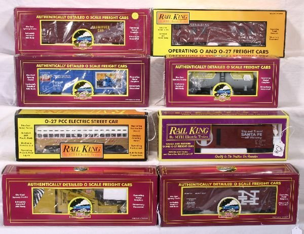 15: NETTE - 8 MTH Freight Cars Plus: