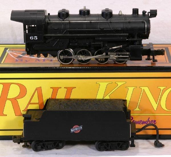 16: NETTE - MTH RailKing RK-1112L 0-8-0 C&NW Switcher: