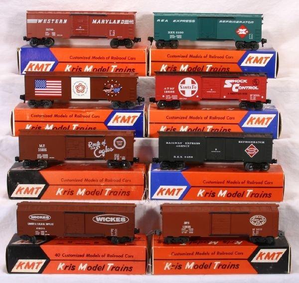 21: NETTE - 8 KMT  Boxcars: