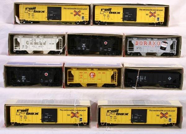 24: NETTE - 10 WEAVER Freight Cars: