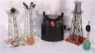 76 NETTE  6 Pc LIONEL Accessories