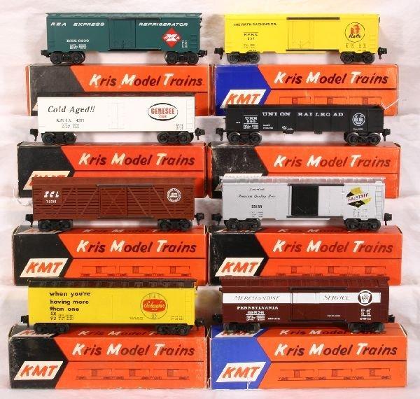 206: NETTE - 8 KMT Freight Cars: