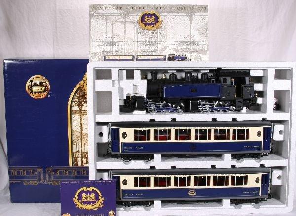 373: NETTE - LGB G Ga. 70685 Orient Express Set: