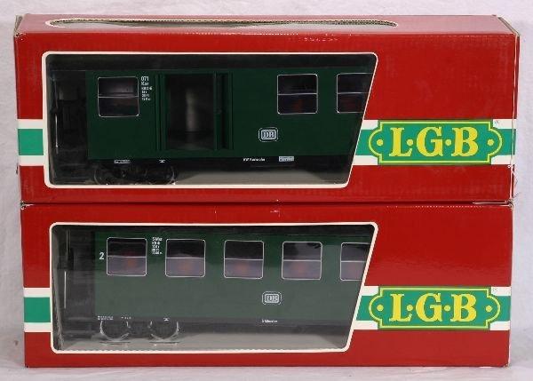 376: NETTE - 2 LGB G Ga. 31655 DB Pass. Cars: