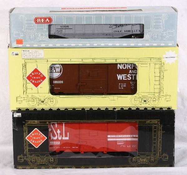 379: NETTE - 3 ARISTO-CRAFT/REA G Ga. Freights: