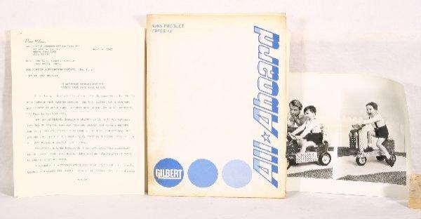 711: NETTE - RARE AM FLYER 1965 Product Press Kit: