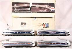 13: NETTE - WELZ #370 Amtrak Metroliner Set: