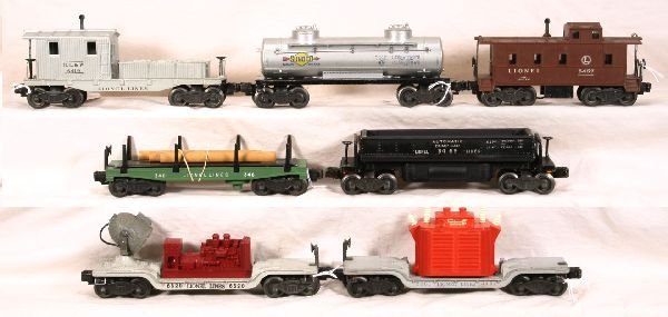 23: NETTE - 7 LIONEL Freight Cars:
