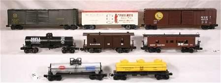 96: NETTE - 8 Mixed Modern Freight Cars: