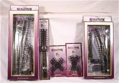 100: NETTE - MTH Scaletrax Track & Switch Lot: