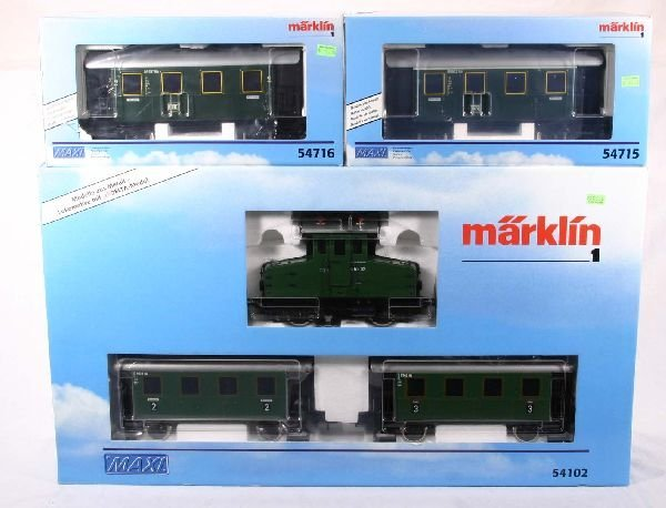 326: NETTE - MARKLIN Maxi Train Set, 54102 Plus: