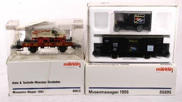 327: NETTE - MARKLIN Maxi  2 Museum Cars:
