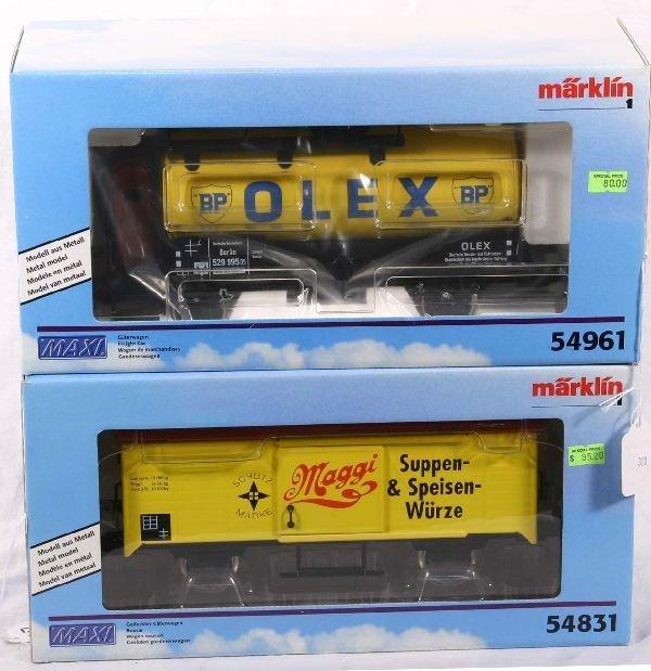 332: NETTE - MARKLIN Maxi 54961 & 54831 Freights: