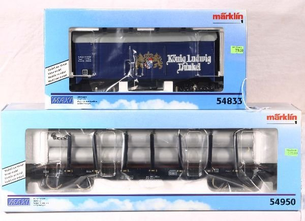 333: NETTE - MARKLIN Maxi 54950 & 54883 Freights: