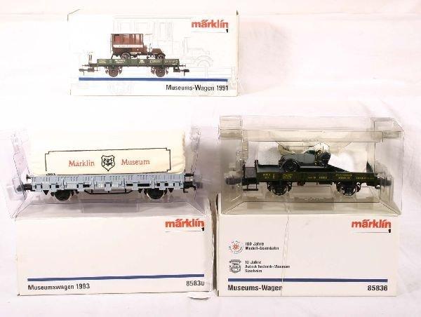 334: NETTE - MARKLIN Maxi 3 Museum-Wagons:
