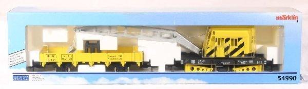 336: NETTE - MARKLIN Maxi 54990 Crane w/Tender: