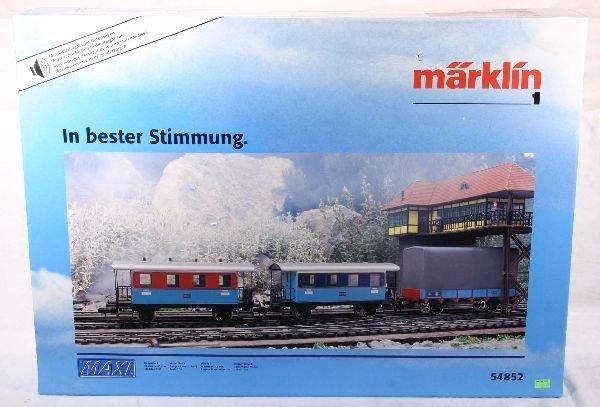 338: NETTE - MARKLIN Maxi 54852 3-Pk w/Music: