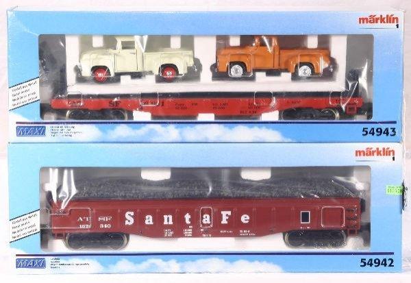 339: NETTE - MARKLIN Maxi 54942 & 54943 Freights: