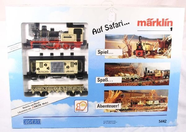 345: NETTE - MARKLIN Maxi 5442 Safari Set: