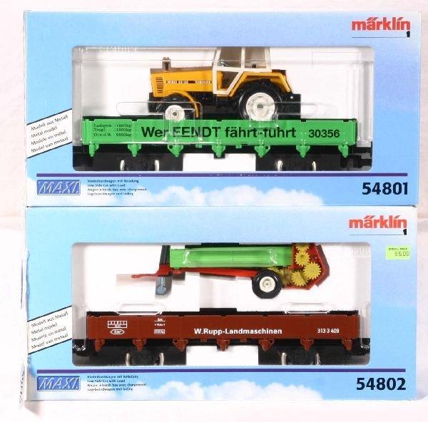 346: NETTE - MARKLIN Maxi 54801 & 2 Freights: