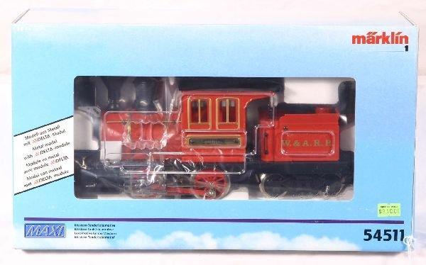 347: NETTE - MARKLIN Maxi 54511 W&ARR Loco: