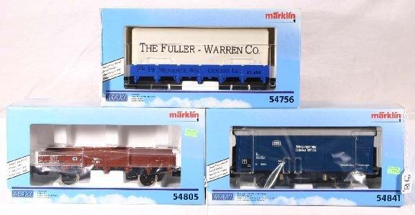 348: NETTE - MARKLIN Maxi 3 Freight Cars: