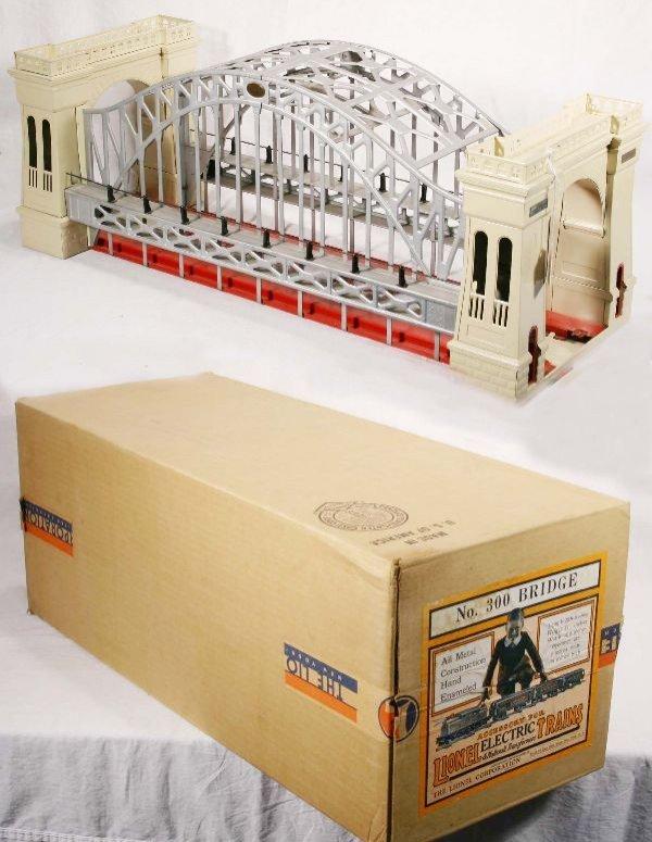 485: NETTE - Super Boxed LIONEL 300 Hellgate Bridge: