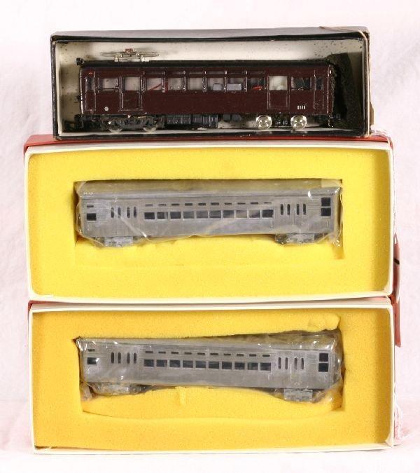 1: NETTE - 3 Boxed HO Trolleys: