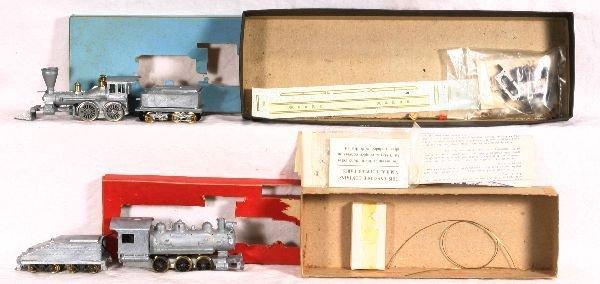 4: NETTE - 4 Early HO Steam Locos:
