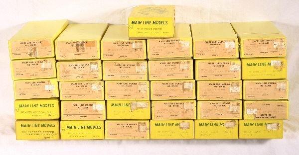 5: NETTE - 31 MAIN LINE MODELS HO Freight Kits: