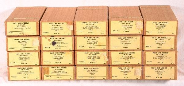 6: NETTE - 20 MAIN LINE HO Freight Car Kits: