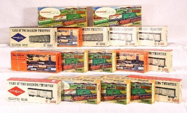 14: NETTE - 17 ULRICH HO Freight Car Kits: